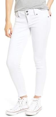 1822 Denim Double Button Skinny Jeans
