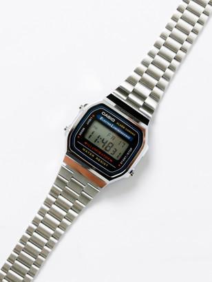 Casio Unisex A168WA-1 Illuminator Digital Watch in Silver