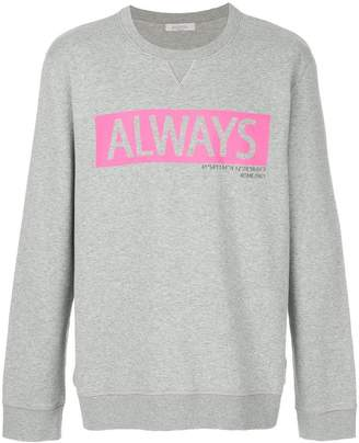 Valentino Always printed sweatshirt