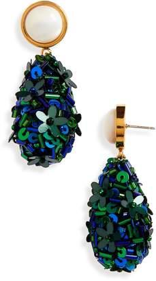 Lizzie Fortunato Roman Party Drop Earrings