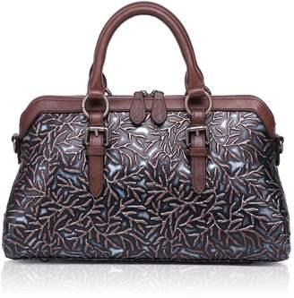 25a18f6de867 APHISON Woen Genuine Leather Handbag Large Capacity Tote Bags Ebossed Design  Shoulder Bag for Ladies 81084