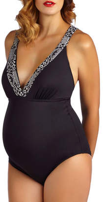 Pez D'or Maternity Montego Bay One-Piece Swimsuit
