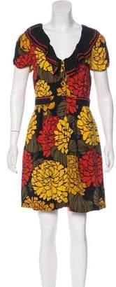 Leifsdottir Floral Mini Dress