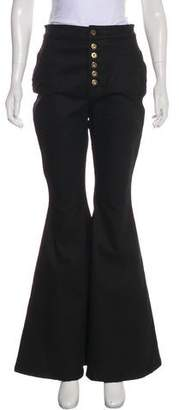 Ellery High-Rise Wide-Leg Jeans w/ Tags