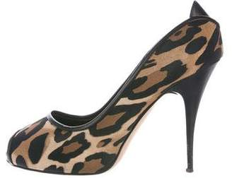Giuseppe Zanotti Savana Leopard Print Pumps discount affordable discount sale online g1Jc67s98