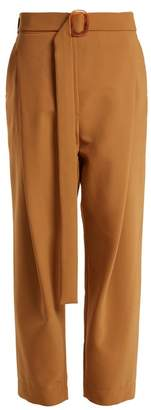 Ellery Kool Aid High Rise Trousers - Womens - Camel