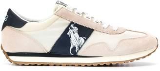 Ralph Lauren Polo logo sneakers