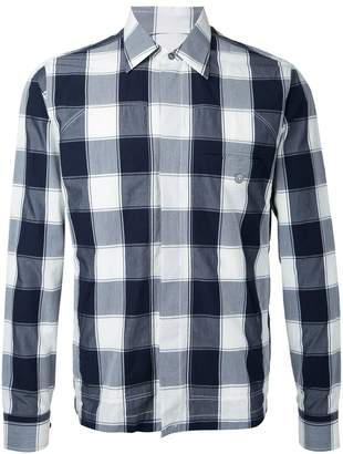 Kent & Curwen checked shirt jacket