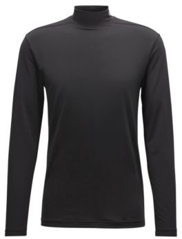 BOSS Hugo Extra-slim-fit jersey top moisture management L Black