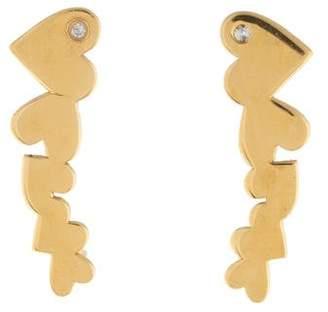 Jennifer Zeuner Jewelry Diamond Mi Ear Climbers