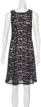 Nina Ricci Lace Sheath Dress