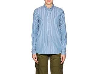 VIS A VIS Women's Striped Cotton-Blend Blouse