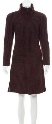 Chanel Wool Textured Coat
