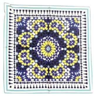 Maje Blue Silk Silk handkerchief