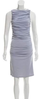 Susana Monaco Ruched Knee-Length Dress