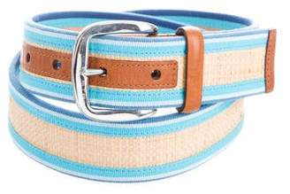 Etro Covered Leather Belt