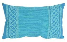 Visions II Celtic Stripe Indoor and Outdoor Pillow