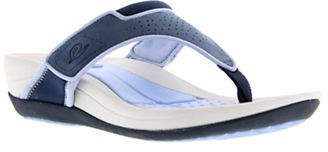 Easy Spirit Perforated Thong Sandals