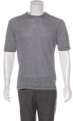 DSQUARED2 Linen-Blend T-Shirt