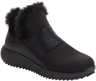 Donna Karan Cory Faux Fur Slip-On Sneaker