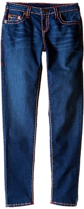 True Religion Kids Casey Color Combo Super T Jeans in Medium Ink (Big Kids) $129 thestylecure.com