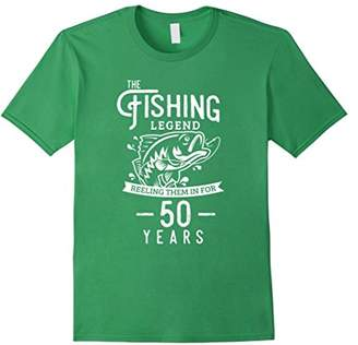 Fishing Legend 50 Years Old Birthday Gift for Fisherman