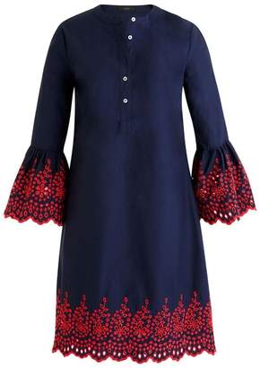 J.Crew J. Crew Eyelet Bell Sleeve Dress