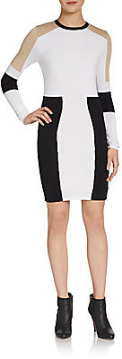 Torn By Ronny Kobo Maddie Colorblock Knit Dress