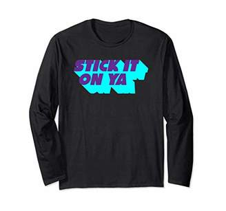 Stick It On Ya Fun Statement Long Sleeve
