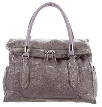 Rebecca Minkoff Embossed Leather Satchel