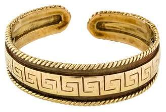 Maz 14K Greek Key Bracelet
