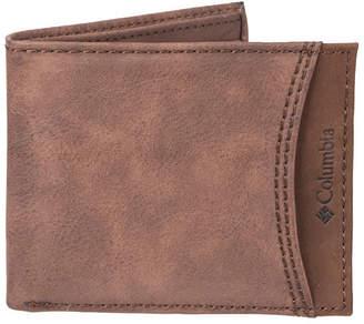Columbia Mens Slim Fold Wallet