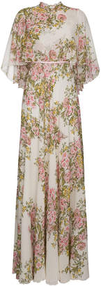 Giambattista Valli Silk floral maxi dress