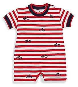 Florence Eiseman Baby Boy's Knit Jersey Stripe Romper