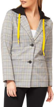 Dex Plaid Hooded Jacket