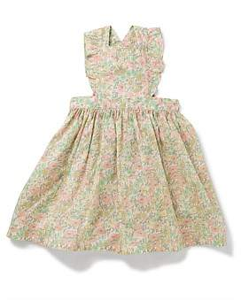 Bonton Girl Apron Printed Dress(3-6 Years)