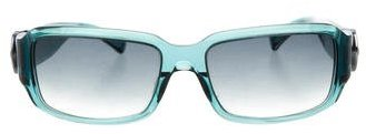 Marc Jacobs Marc Jacobs Logo-Embellished Rectangular Sunglasses