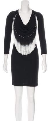 Just Cavalli Long Sleeve Mini Dress w/ Tags