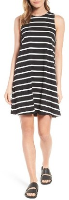 Women's Press Stripe A-Line Dress $75 thestylecure.com