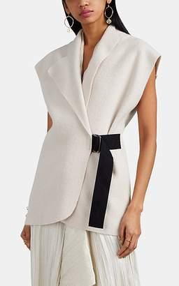 Zero Maria Cornejo Women's Ari Alpaca-Wool Shrug Jacket - Greige