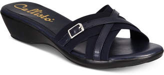 Callisto Babcock Strappy Wedge Sandals, Created for Macy's Women's Shoes