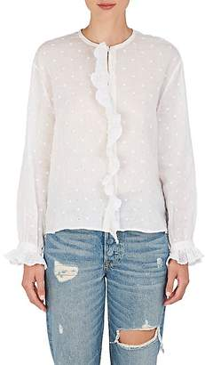 Isabel Marant Women's Namos Embroidered Voile Top