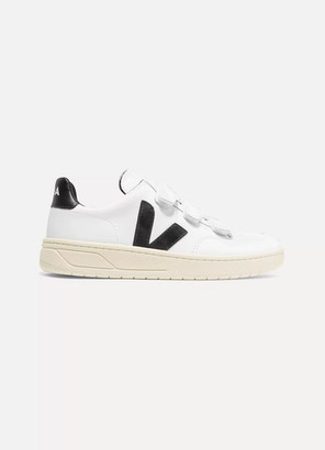 Veja V-lock Leather Sneakers - White