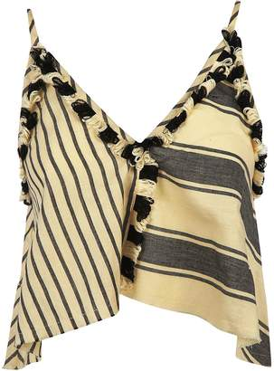 Dodo Bar Or Stripes and Tassels Tank Top