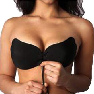 94711d003ab58 Homax Reusable Invisible Strapless Silicone Push-up Bra For Women