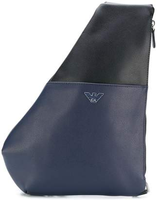 Emporio Armani single strap backpack