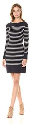 French Connection Women's Tim Stripe Long Sleeve Dress,2