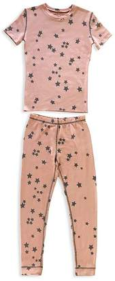 PJ Salvage Girls' Star Pajama Set - Big Kid
