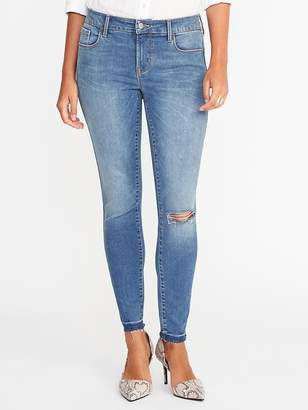 Old Navy Mid-Rise Built-In Sculpt Rockstar Ankle Jeans for Women