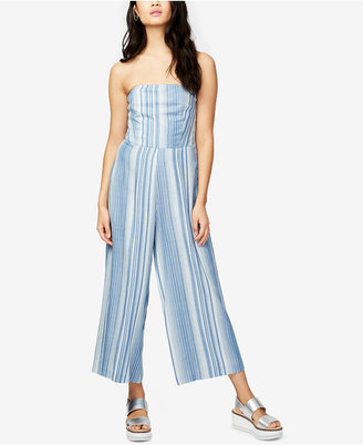 RACHEL Rachel Roy Striped Strapless Jumpsuit, Only at Macy's $129 thestylecure.com